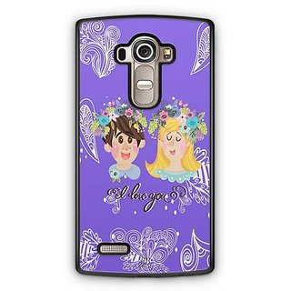 YuBingo I Love You Designer Mobile Case Back Cover for LG G4