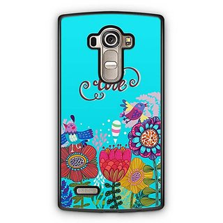 YuBingo Love and flowers Designer Mobile Case Back Cover for LG G4