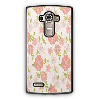YuBingo Rose and leaf pattern Designer Mobile Case Back Cover for LG G4