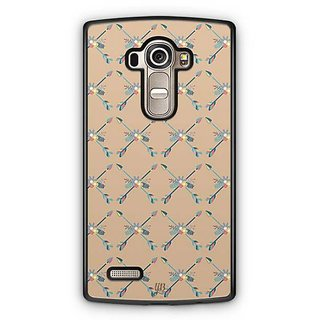 YuBingo Crossed Arrow Designer Mobile Case Back Cover for LG G4