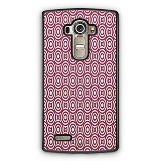 YuBingo Red circles pattern Designer Mobile Case Back Cover for LG G4