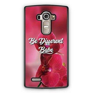 YuBingo Be Different Babe Designer Mobile Case Back Cover for LG G4