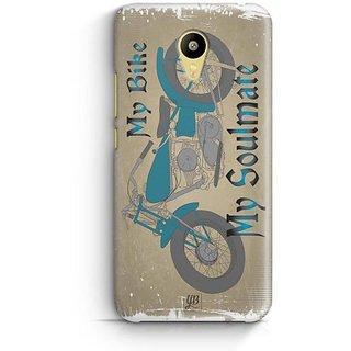 YuBingo My Bike My Soulmate Designer Mobile Case Back Cover for Meizu M3
