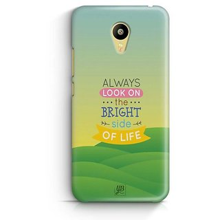 YuBingo Bright Side of Life Designer Mobile Case Back Cover for Meizu M3