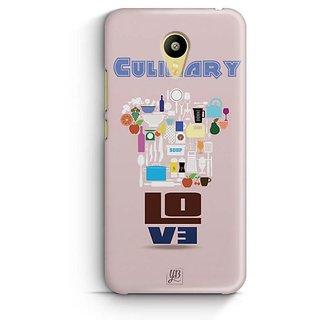 YuBingo Culinary Love Designer Mobile Case Back Cover for Meizu M3
