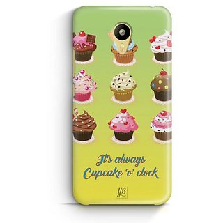 YuBingo Cupcake 'O' Clock Designer Mobile Case Back Cover for Meizu M3