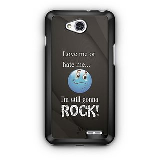 YuBingo I am Gonna Rock Designer Mobile Case Back Cover for LG L90