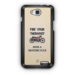 YuBingo Ride A Motorcycle Designer Mobile Case Back Cover for LG L90