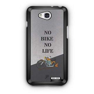 YuBingo No Bike No Life Designer Mobile Case Back Cover for LG L90