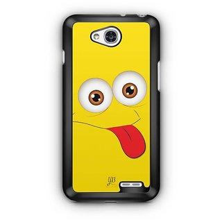 YuBingo Funny Smiley Designer Mobile Case Back Cover for LG L90