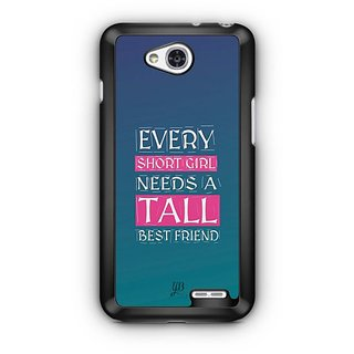 YuBingo Girl Needs a Best Friend Designer Mobile Case Back Cover for LG L90