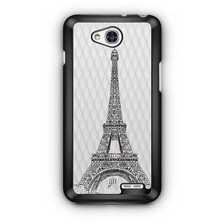 YuBingo Eiffel Tower Designer Mobile Case Back Cover for LG L90