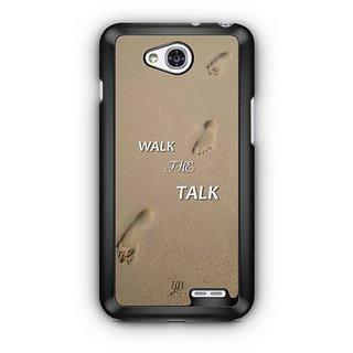 YuBingo Walk the Talk Designer Mobile Case Back Cover for LG L90