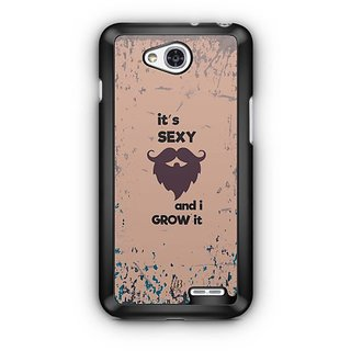 YuBingo It's Sexy and I Grow it Designer Mobile Case Back Cover for LG L90