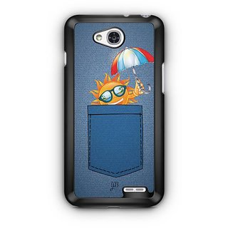 YuBingo Sun in Jeans Designer Mobile Case Back Cover for LG L90