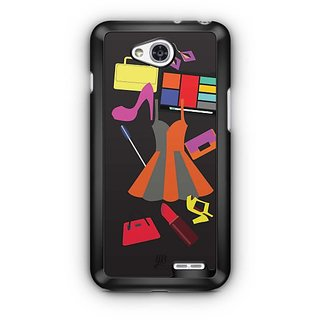 YuBingo Wardrobe of a Town Girl Designer Mobile Case Back Cover for LG L90