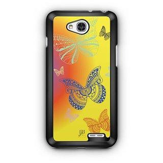 YuBingo Butterflies Designer Mobile Case Back Cover for LG L90