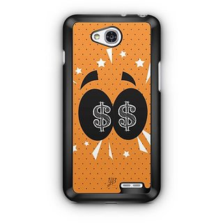 YuBingo Money in my Eyes Designer Mobile Case Back Cover for LG L90