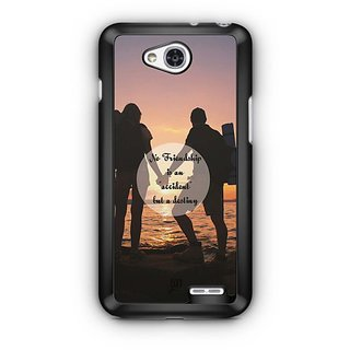 YuBingo Friendship is a Destiny Designer Mobile Case Back Cover for LG L90