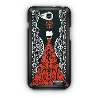 YuBingo Lady in a Evening Gown Designer Mobile Case Back Cover for LG L90