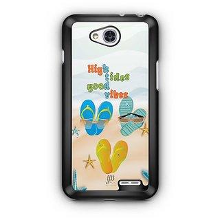 YuBingo High Tides, Good Vibes Designer Mobile Case Back Cover for LG L90