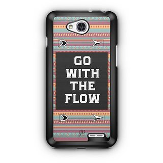 YuBingo Go with the Flow Designer Mobile Case Back Cover for LG L90
