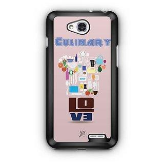 YuBingo Culinary Love Designer Mobile Case Back Cover for LG L90
