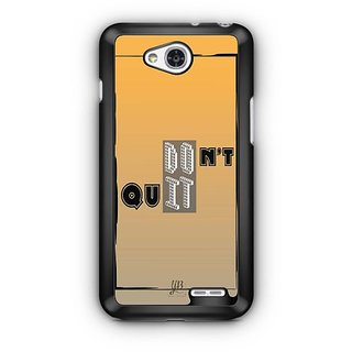 YuBingo Don't Quit. Do It. Designer Mobile Case Back Cover for LG L90