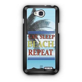 YuBingo Travel, Sleep, Beach, Repeat Designer Mobile Case Back Cover for LG L90