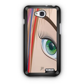 YuBingo Look at my Eye Designer Mobile Case Back Cover for LG L90