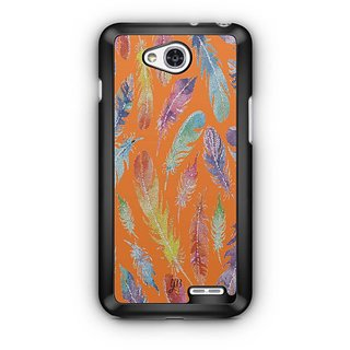 YuBingo Feathers Designer Mobile Case Back Cover for LG L90