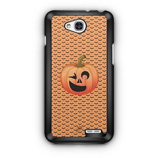 YuBingo Halloween Pumpkin Designer Mobile Case Back Cover for LG L90