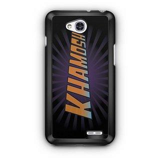 YuBingo Khamosh Designer Mobile Case Back Cover for LG L90
