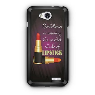 YuBingo Perfect Shade of Lipstick Designer Mobile Case Back Cover for LG L90