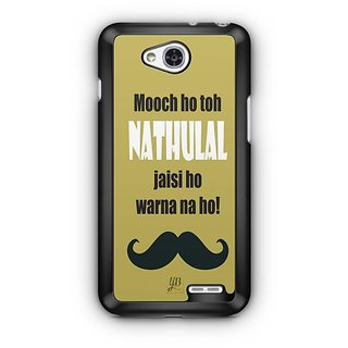 YuBingo Nathulal Jaisi Mooch Designer Mobile Case Back Cover for LG L90