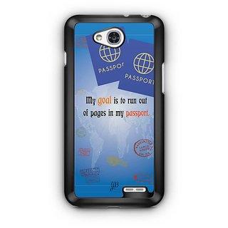 YuBingo Travel the World Designer Mobile Case Back Cover for LG L90