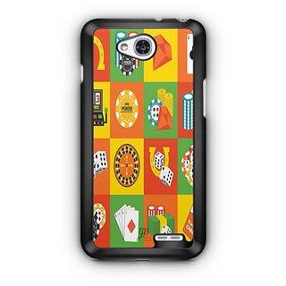 YuBingo Poker Designer Mobile Case Back Cover for LG L90