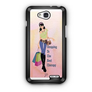 YuBingo Shopping is the Best Therapy Designer Mobile Case Back Cover for LG L90