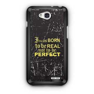 YuBingo I was Born to be Real Designer Mobile Case Back Cover for LG L90