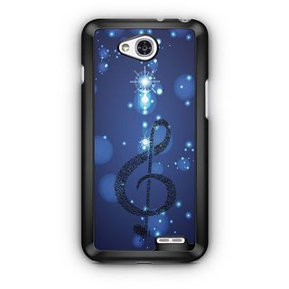 YuBingo Musical Note Designer Mobile Case Back Cover for LG L90