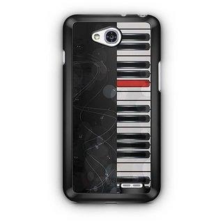 YuBingo Piano Designer Mobile Case Back Cover for LG L90