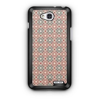 YuBingo Square Patterns Designer Mobile Case Back Cover for LG L90