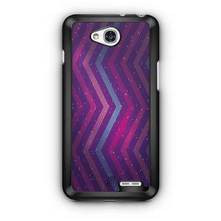 YuBingo Zig Zag Pattern with Confetti Designer Mobile Case Back Cover for LG L90