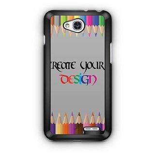 YuBingo The White Horse Designer Mobile Case Back Cover for LG L90
