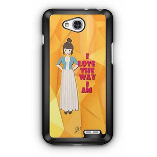 YuBingo I love the Way I Am Designer Mobile Case Back Cover for LG L90