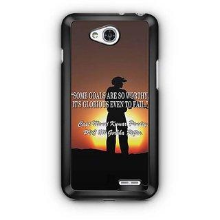 YuBingo Soldier Shooting Designer Mobile Case Back Cover for LG L90