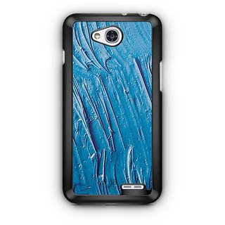 YuBingo Blue Oil Paint Designer Mobile Case Back Cover for LG L90