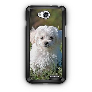 YuBingo Adorable Dog Designer Mobile Case Back Cover for LG L90