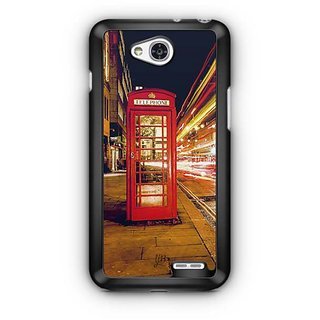 YuBingo Telephone Booth Designer Mobile Case Back Cover for LG L90