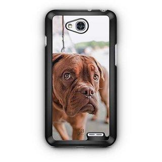 YuBingo Innocent Dog Designer Mobile Case Back Cover for LG L90